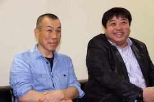 Cinematographer Akira Sako, JSC (L) and Director Yoshinari Nishikôri (R)