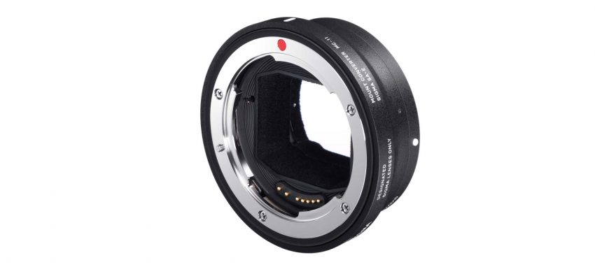 Sigma EF-to-E-Mount Adapter with lens data contacts