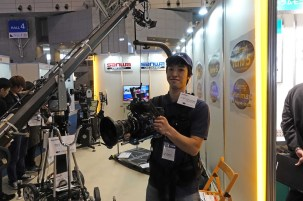 Sanwa is dealer for Easyrig in Japan