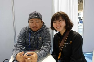 Kei Takahashi and Sachiko Arai of Blackmagic