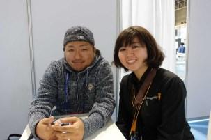 Kei Takahashi and Sachiko Arai of Blackmagic