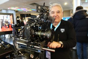 Andres Valles and his Servicevision Scorpio Wide Angle Aspheron 0.8x converter