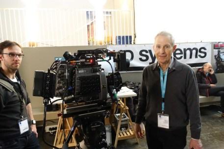 Howard Preston and Light Ranger 2 at HDSystems