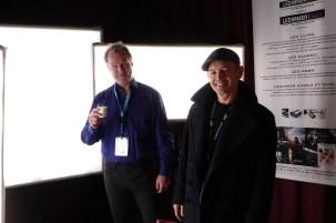 Henrik Moseid and John Christian Rosenlund with Softlights Juliette LEDs
