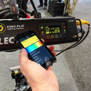 Control Kino Flo with wireless App