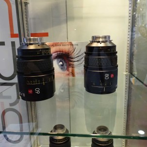 60, 80 mm Raptor large format lenses