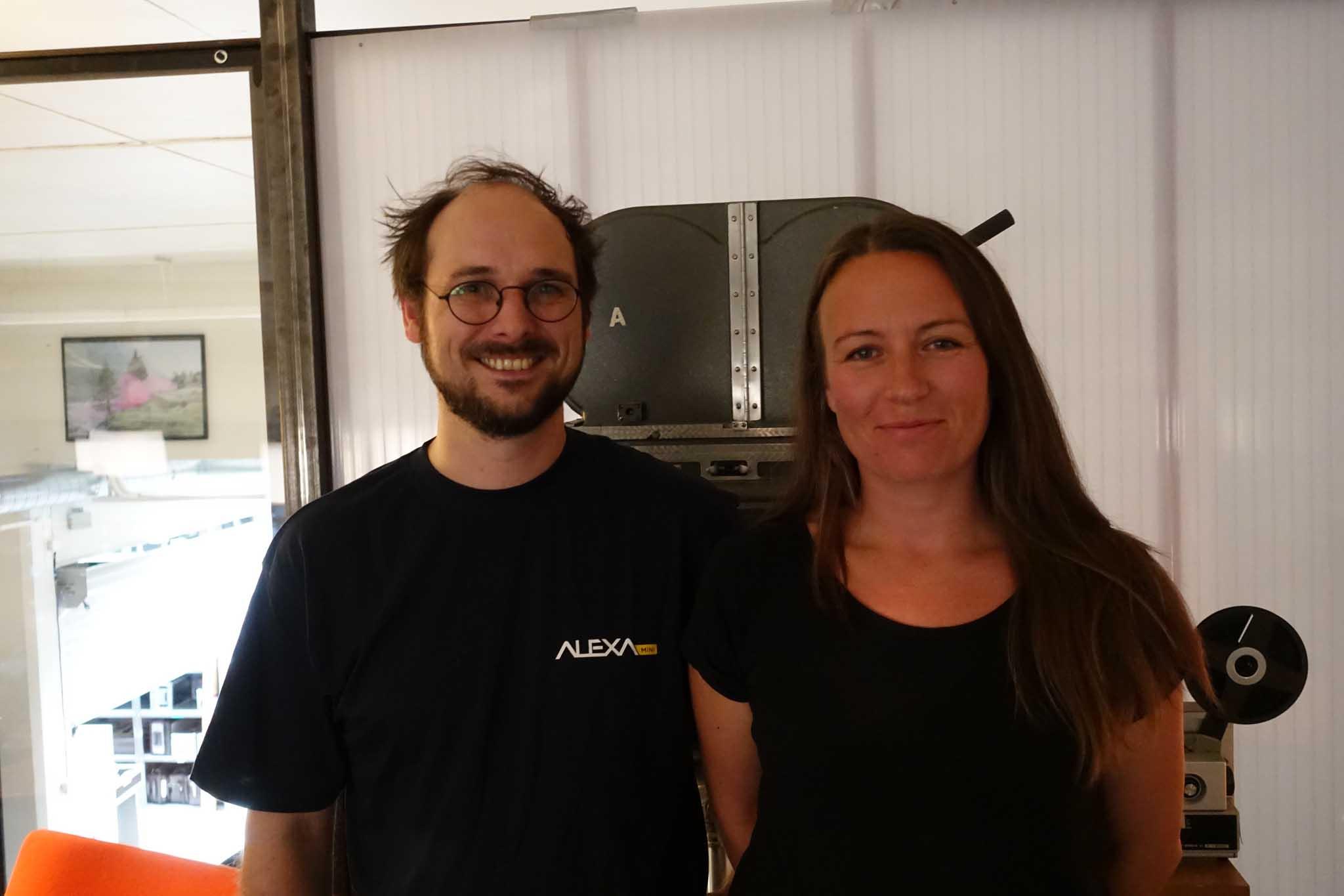 Andreas Herzog Grimsø and Mai Dehli