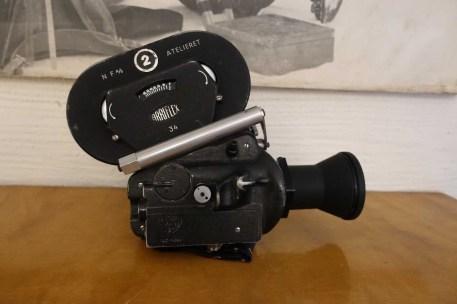 Vintage Arriflex with Kinoptic Tegea