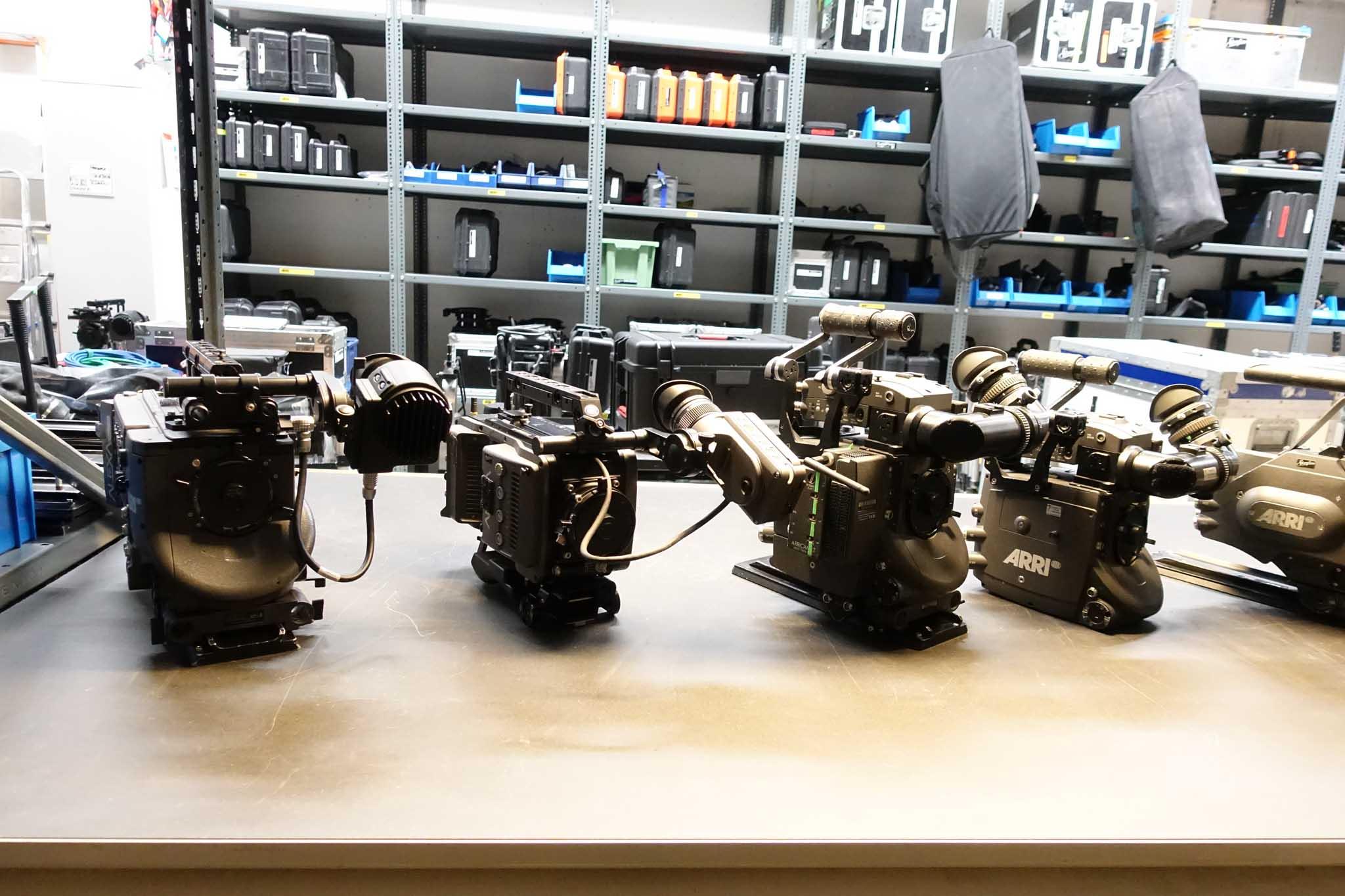 ARRI Camera prep area