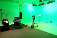Studio with Green screen
