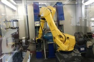 Robotic machining.