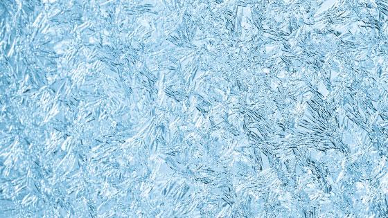 Darstellung von eiskristallen
