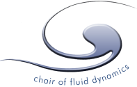 Chair of fluid dynamics Logo