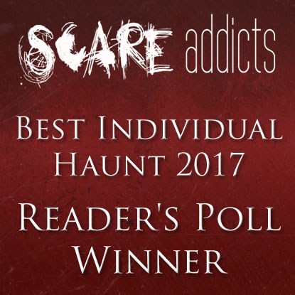Scare Addicts  Reader's Poll Winner  Best Scream Park of 2017