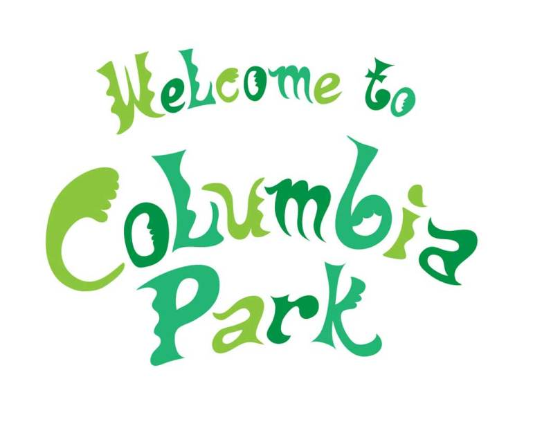 Welcome To Columbia Park Type Treatment