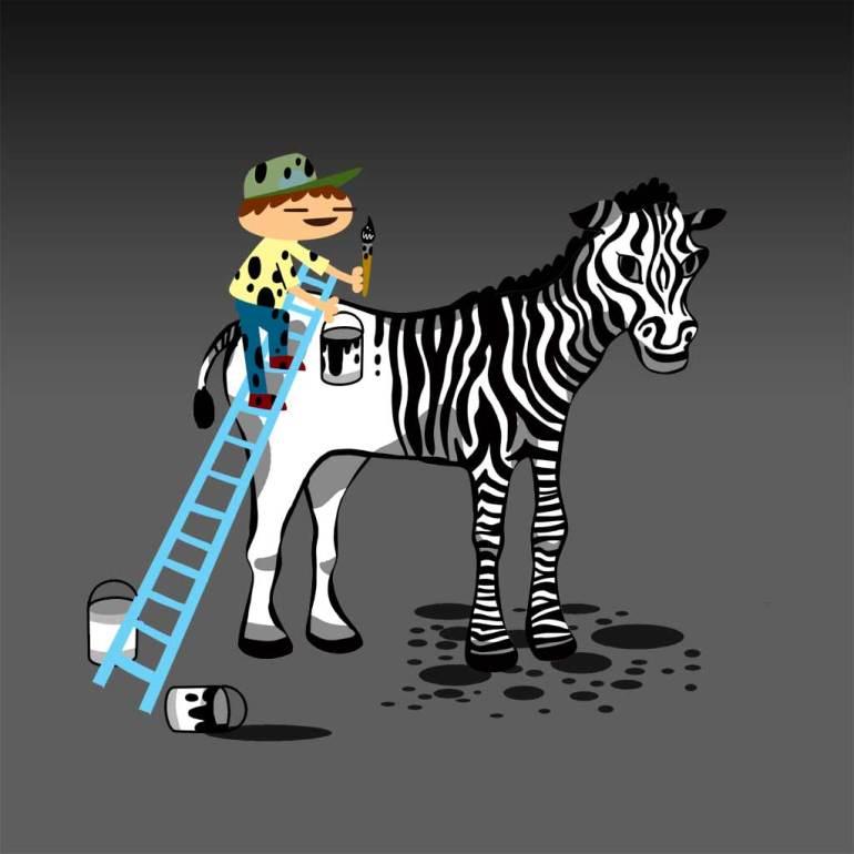Zebra Artist