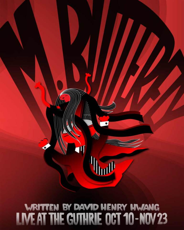 M. Butterfly Poster Design