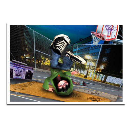 Jay D Breakdance: Game Story Illustration