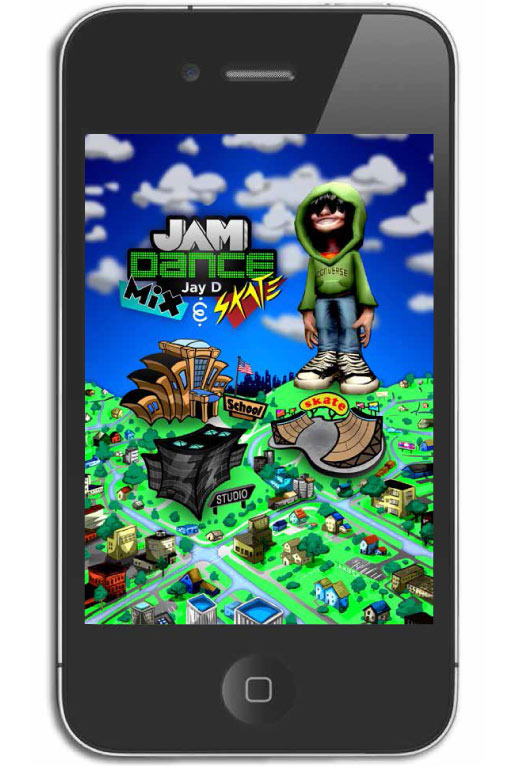 Jay D: Jam Dance UI illustration