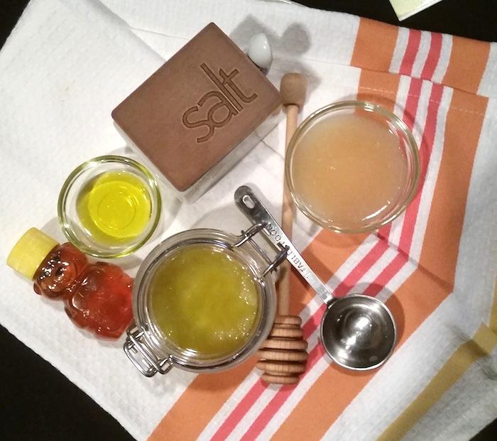 Honey Scrub Ingredients