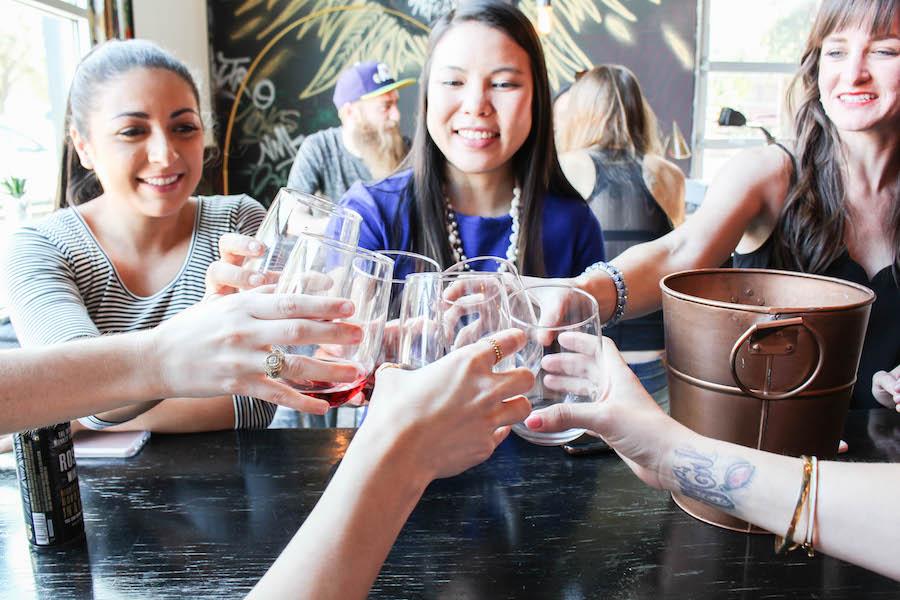 Fearless Captivations Wine Tasting Infinite Monkey Theorem Winery Austin Bloggers