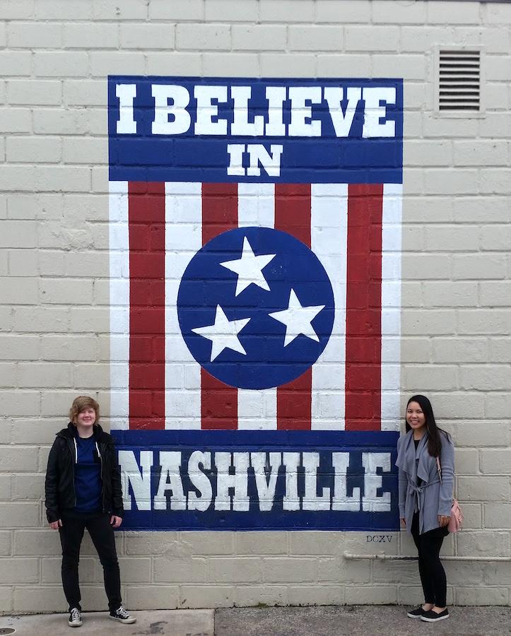 I Believe in Nashville Mural Street Art