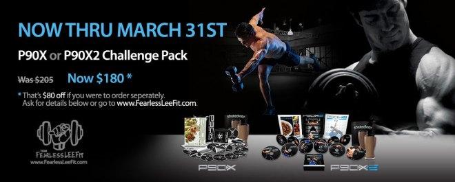 p90x p90x2 challenge packs promotion