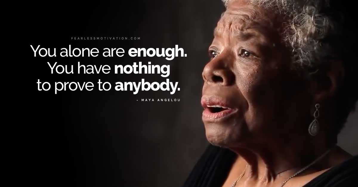 Maya Angelou Quotes About Learning