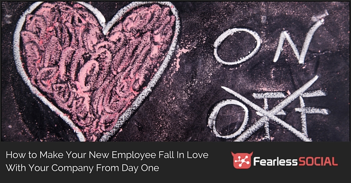 How to Make Your New Employee Fall in Love with Your Company from Day One