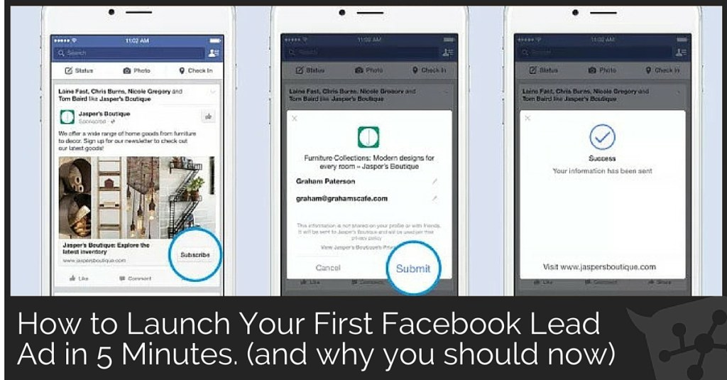 How to Launch Your First Facebook Lead Ad in 5 Minutes