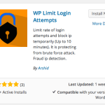 limit-login-attempts How to Set Up WordPress Today