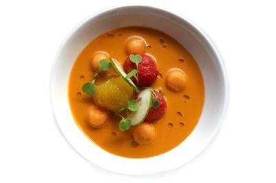 Feast & Imbibe Watermelon Gazpacho