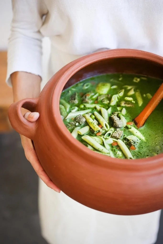 Peruvian Minestrone Soup
