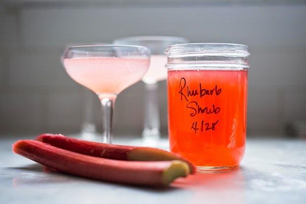 Rhubarb Shrub