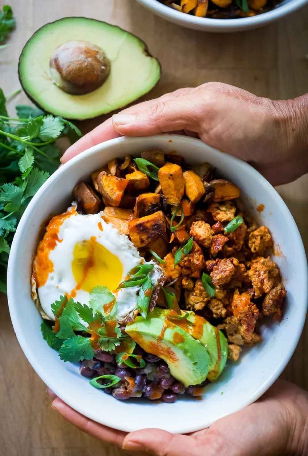 Healthy Yummy Mexican Breakfast Bowls