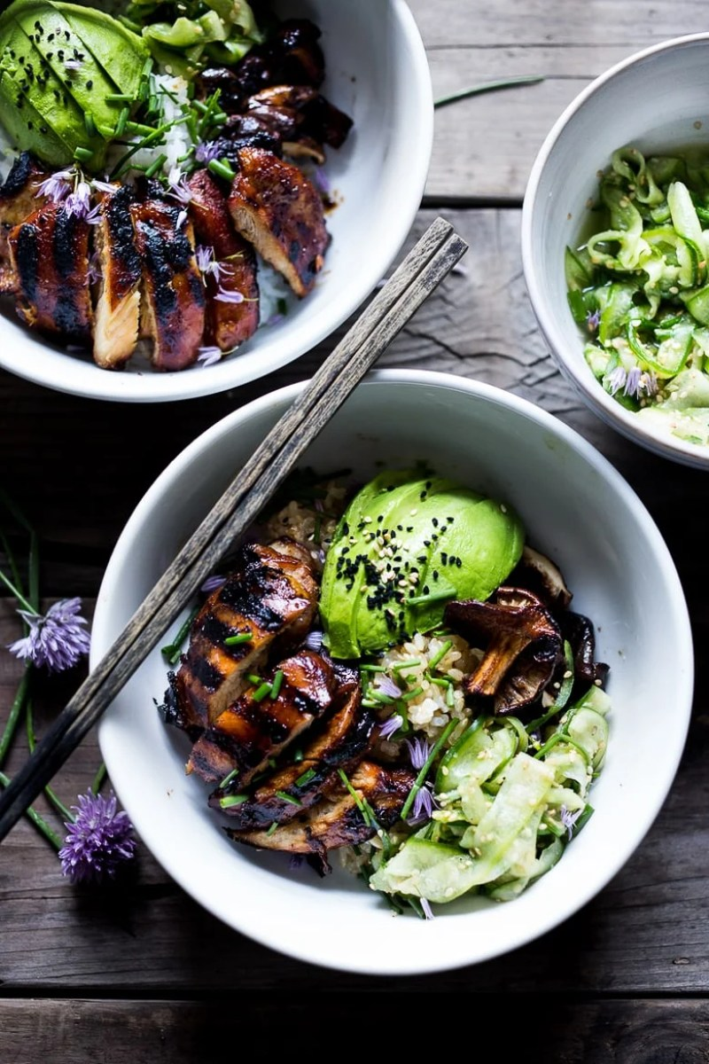 GRILLED JAPANESE FARM STYLE TERIYAKI BOWL