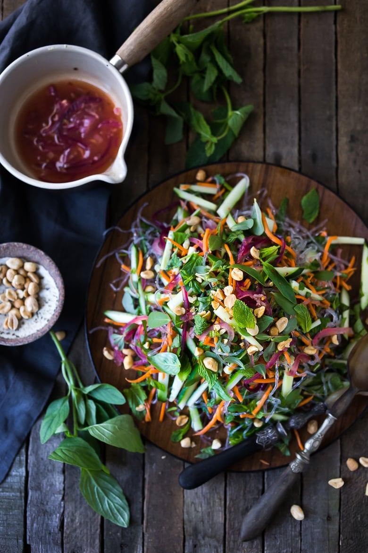 Vietnamese Vermicelli Salad w/ Sweet Chili Vinaigrette