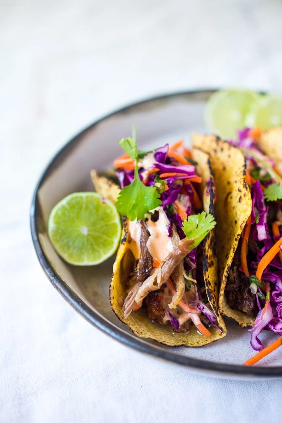 SLOW-ROASTED FIVE SPICE PULLED PORK (OR BEEF) TACOS ...