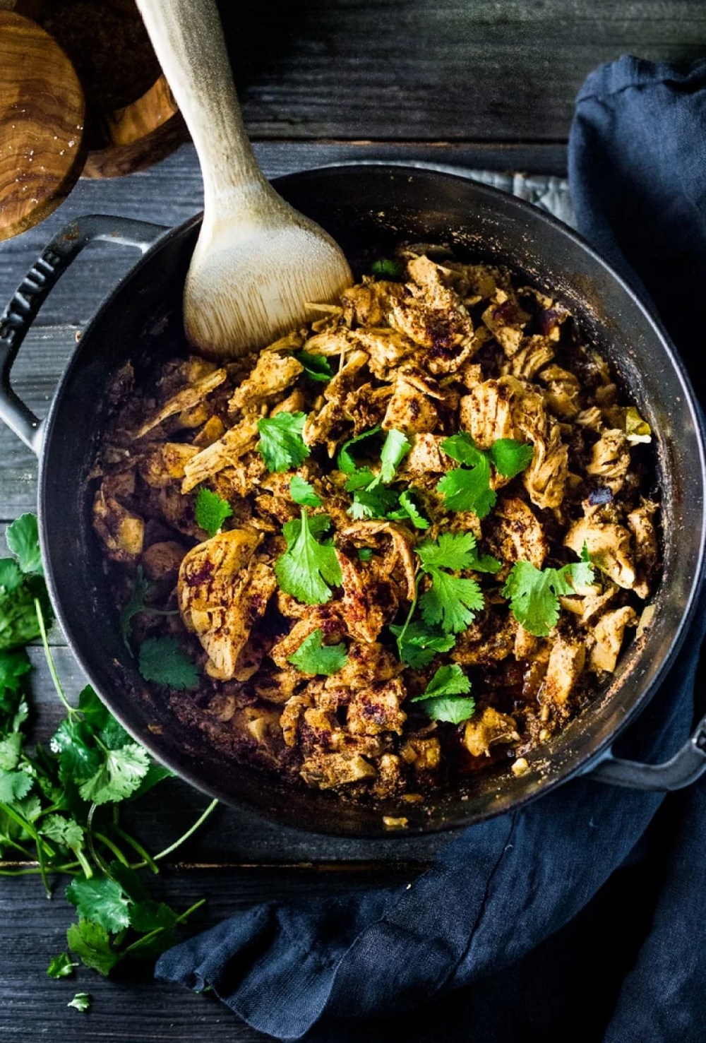 Dutch Oven Chicken Carnitas – 3 Ways