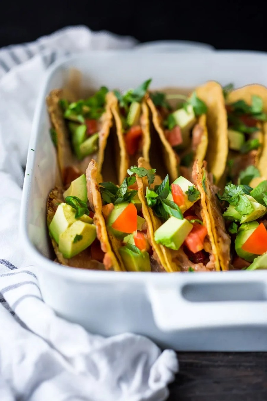 Simple Fast Baked Tacos