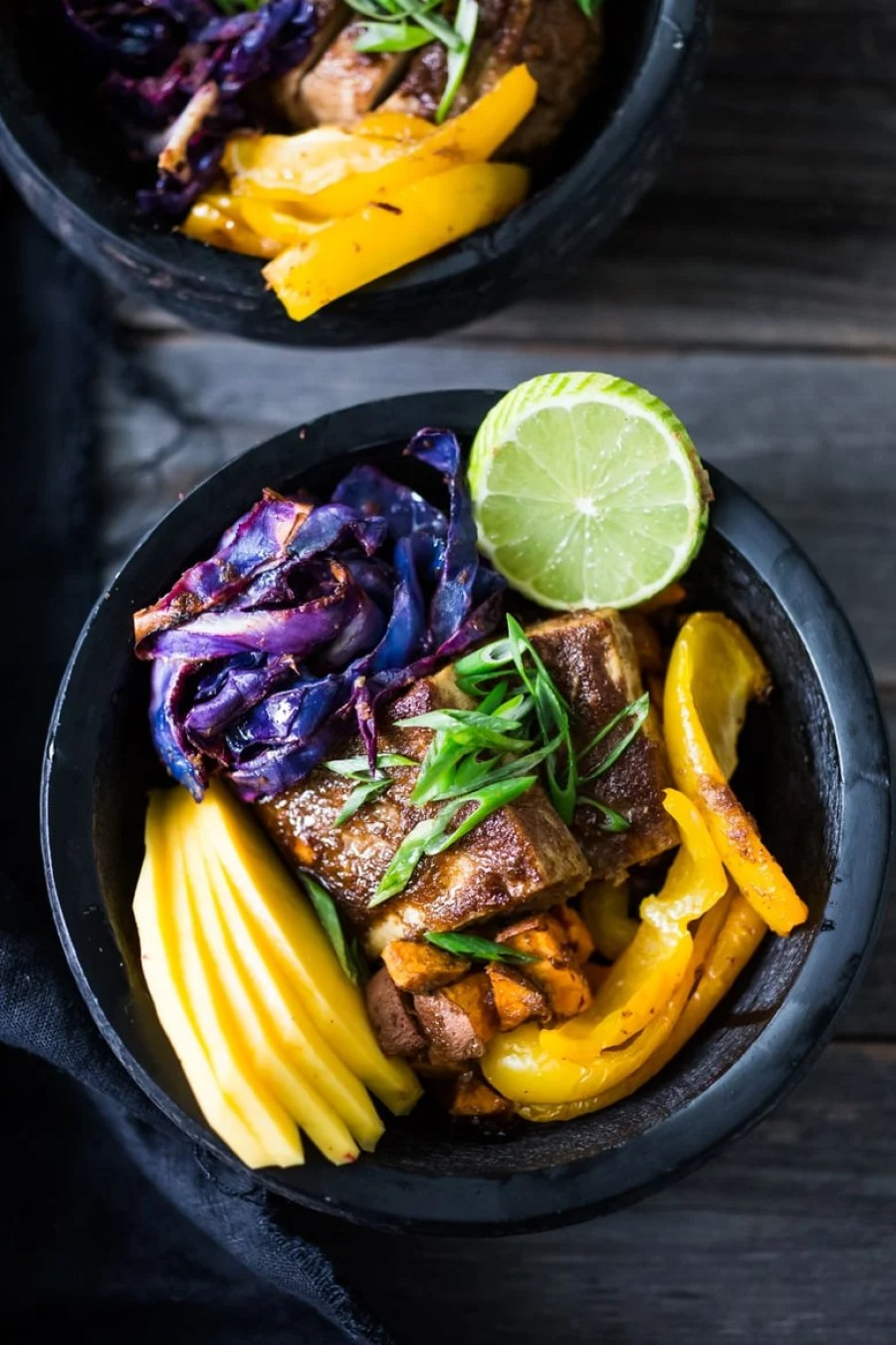 Sheet Pan Voodoo Bowl with Roasted Cabbage