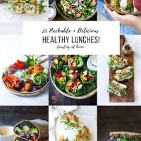 25 Delicious Healthy Lunches!