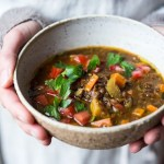 Make Life Simple Lentil Soup - vegan and gluten free, with Middle Eastern Spices.