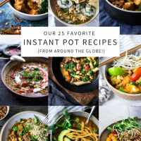 TOP 25 Instant Pot Recipes (from around the world!)