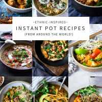 20 Instant Pot Recipes (from around the world!)