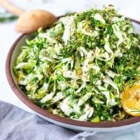 Lebanese Slaw (Salatet Malfouf)