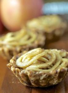 Spiralized Apple Tartlets