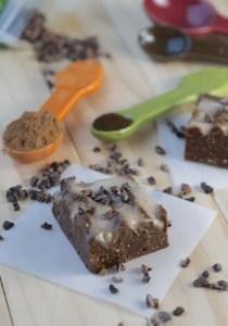 Fudgy Vanilla Swirl Brownies