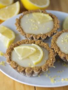 Lemon Gingerbread Tartlets