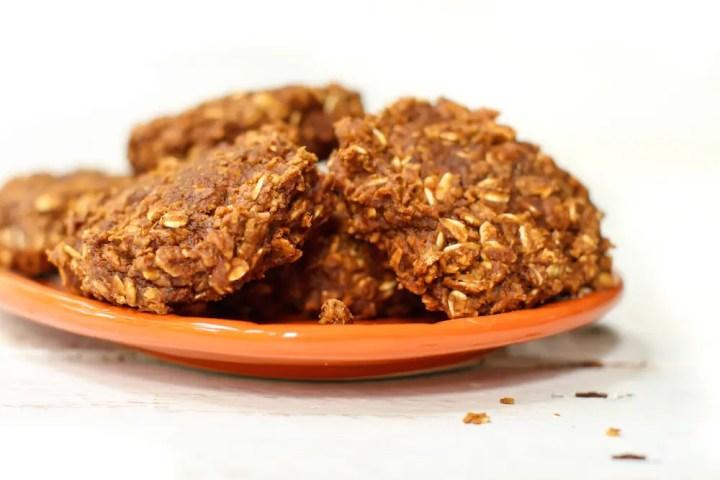 Brownie-Stuffed Pumpkin Cookies - FeastingonFruit.com